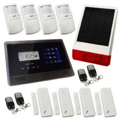 Sentry Pro Wireless GSM Auto Dial House Alarm Solar Solution 3